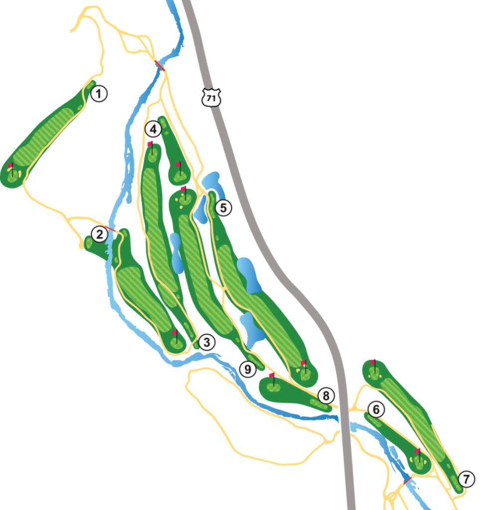 Berksdale Golf Course - 9 Hole