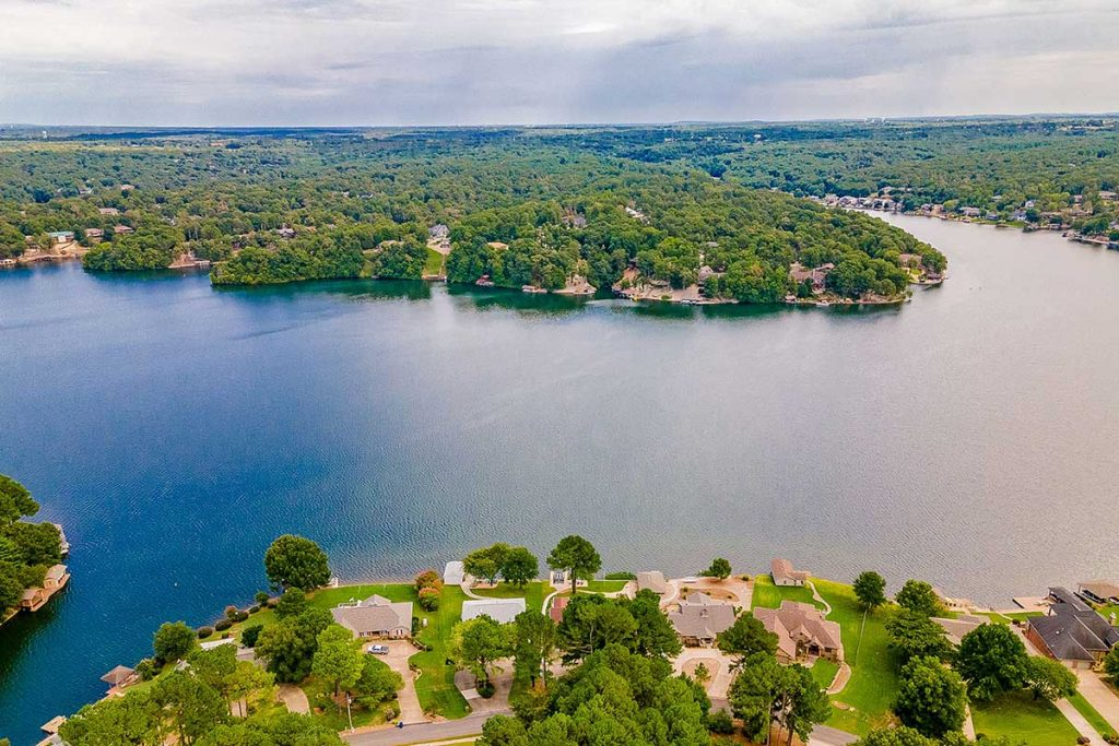 Lake Loch Lomond in Bella Vista, Arkansas